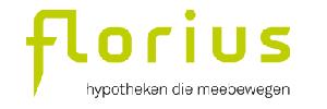 Florius logo - Huidige hypotheekrente